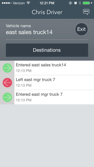 mobile driver logs for fleets